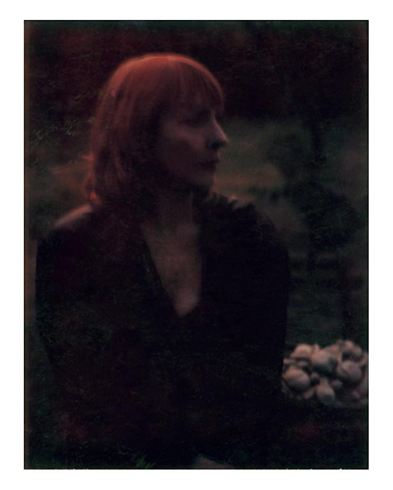 Frannie in her garden in Milthorpe