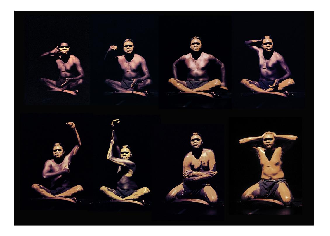Djkapurra Munyurran 'Black Vine' performance Sydney Town Hall 1995
