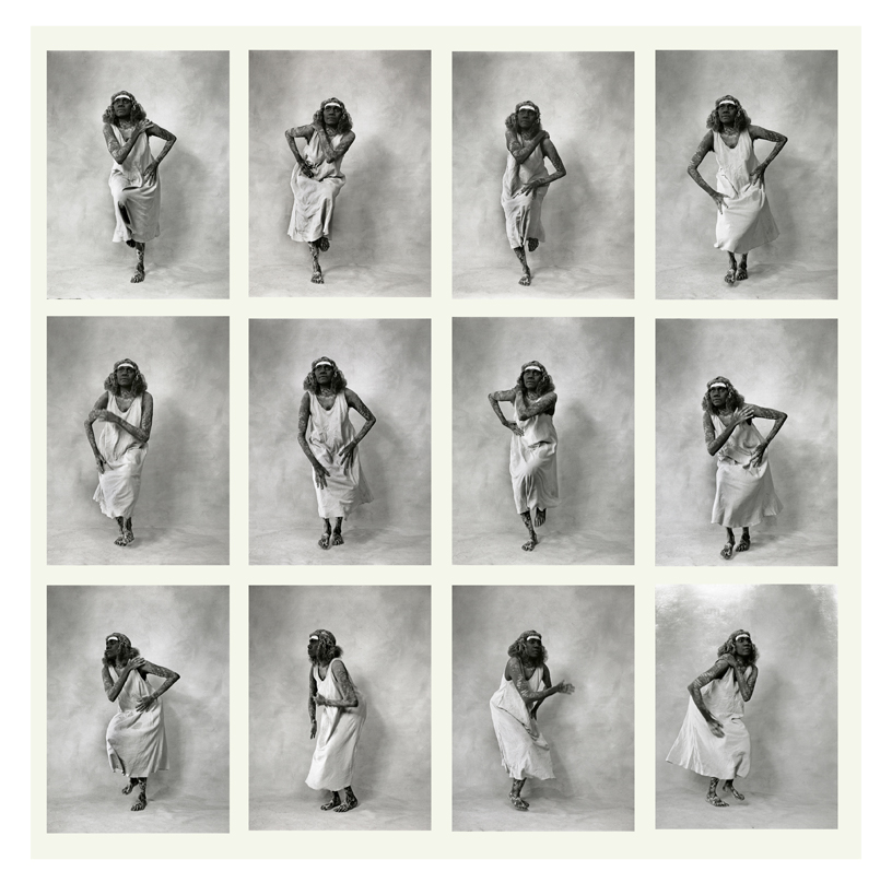 Janet Munyurran 'Movement Study' Dance Clan III 1999