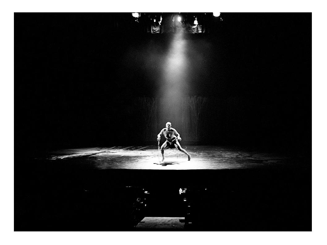 Djkapurra Munyurran 'Skin' rehearsals Enmore Theatre 1999