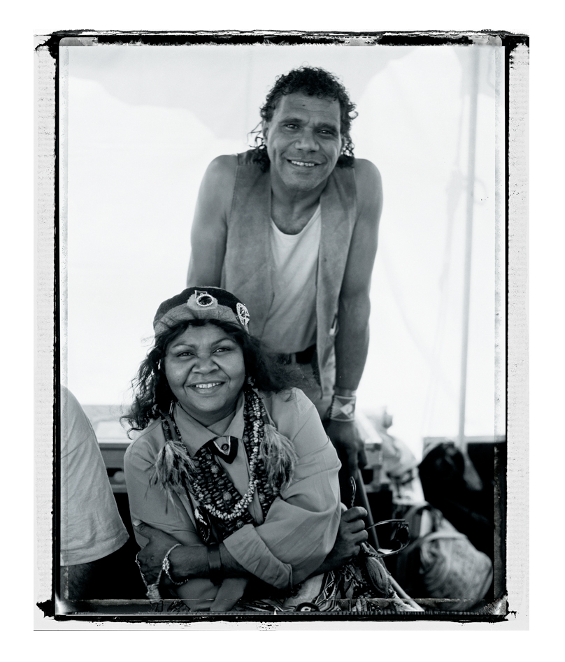 Ruby Hunter with her husband Archie Roach