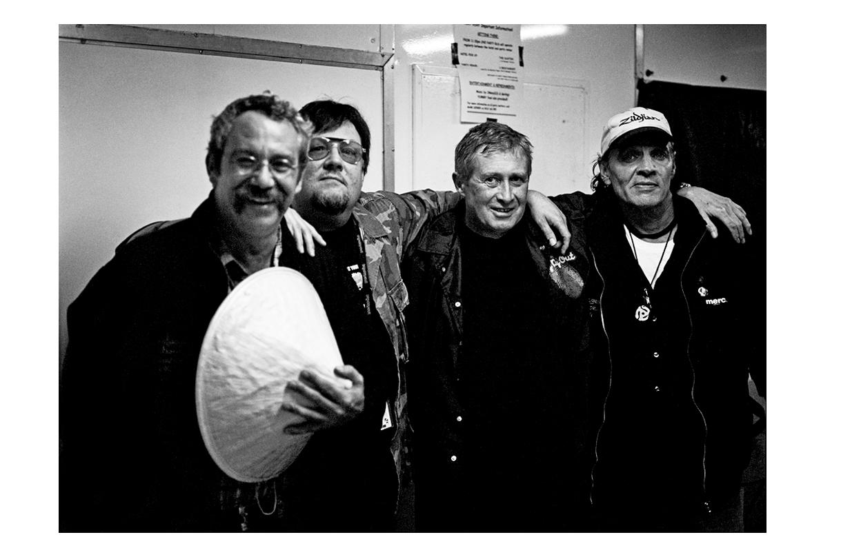 Mike Watt, Ron Asheton, Steve Mackay, Scott Asheton