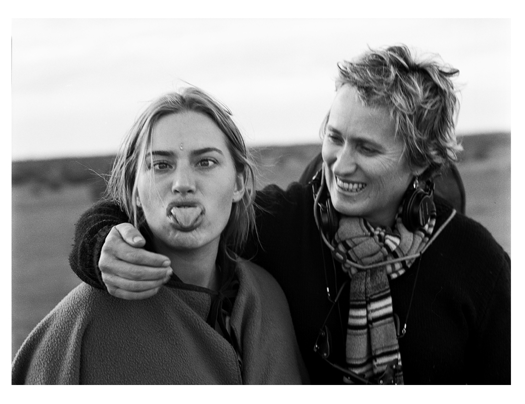 Jane Campion and Kate Winslet