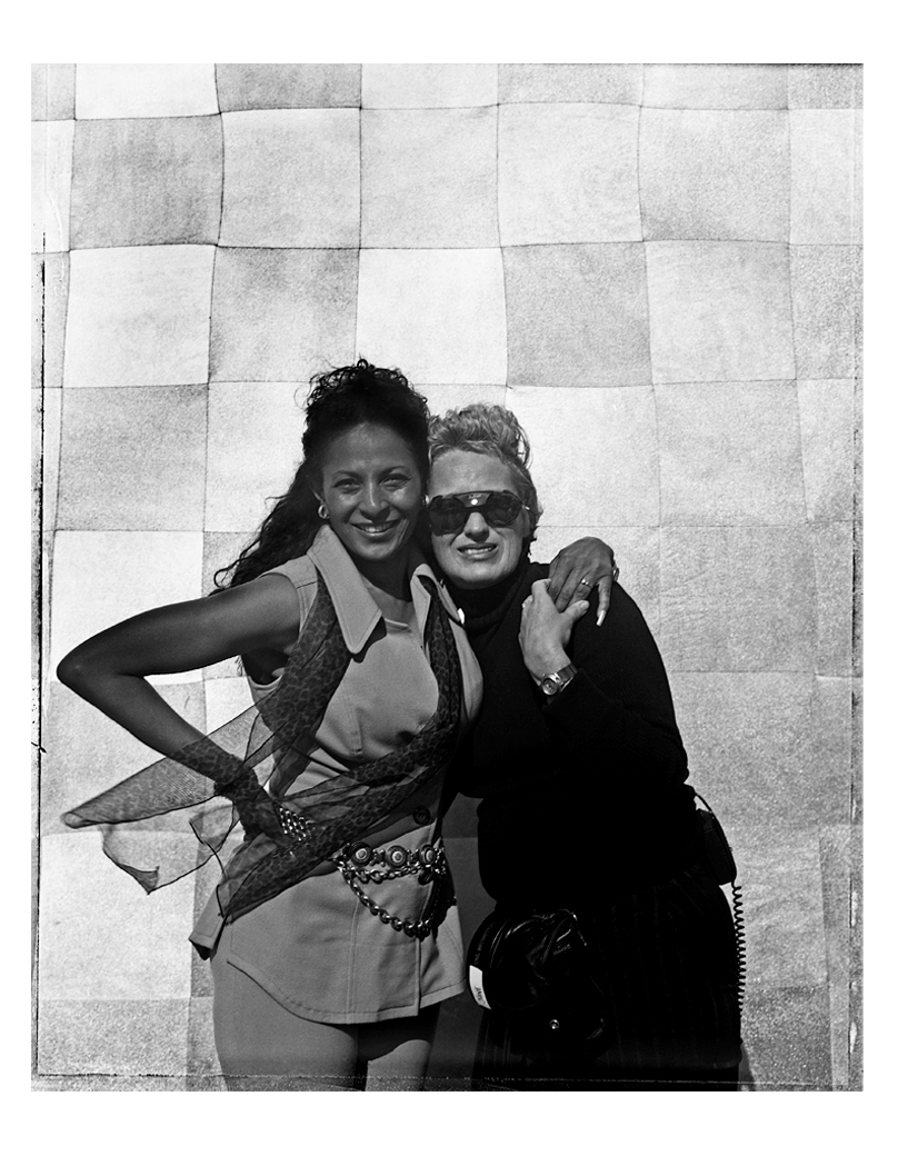 Pam Grier with Jane Campion