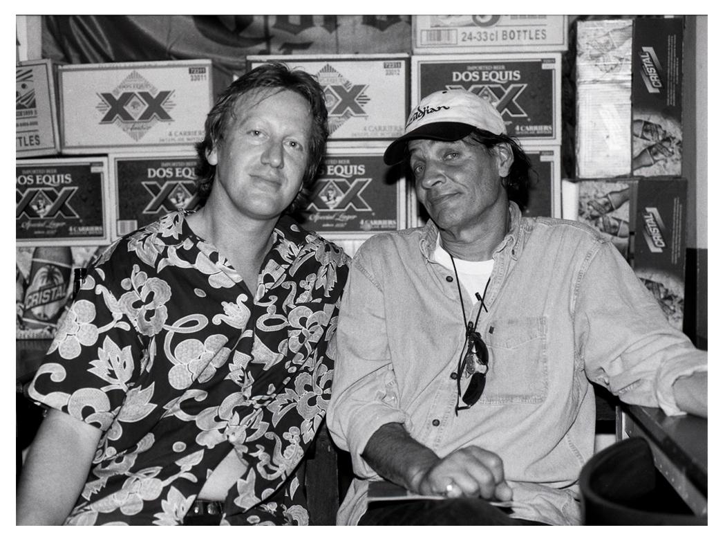 Rob with Scott Asheton Sydney January 2006