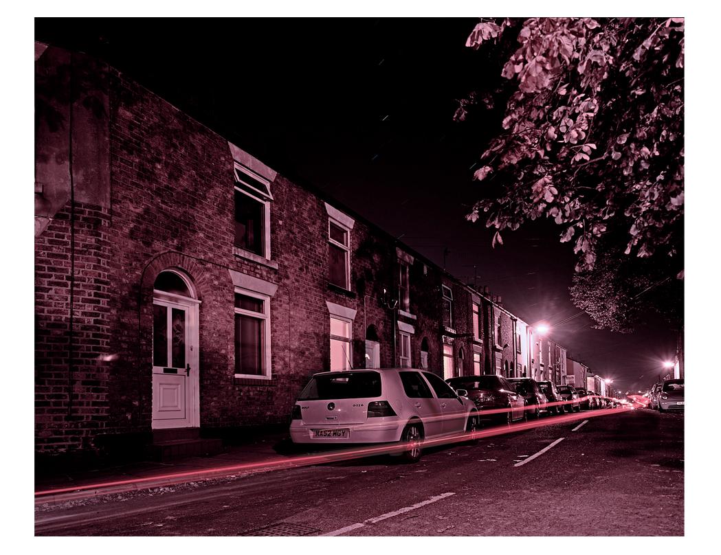 77 Barton Street Macclesfield. Ian's home.