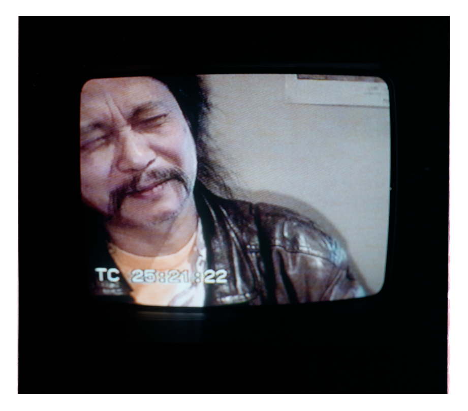 Damo Suzuki at Pintxos on the first night we met. It was after this that Damo began to call me 'Bathing Whiskey'.