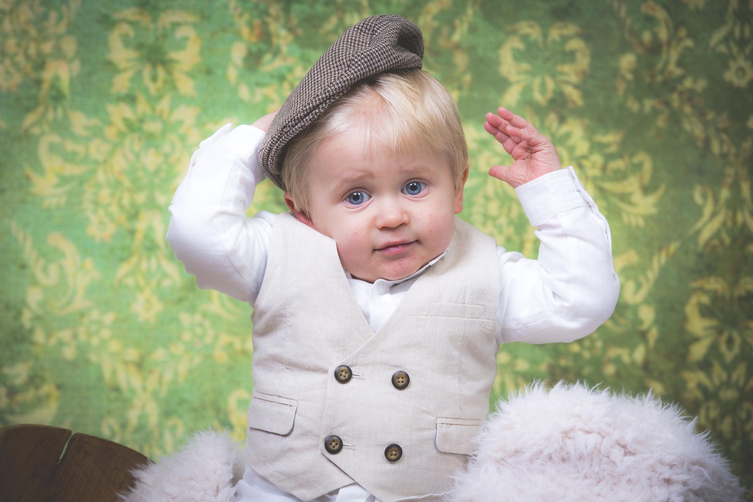 Baby Portrait Photography Devon