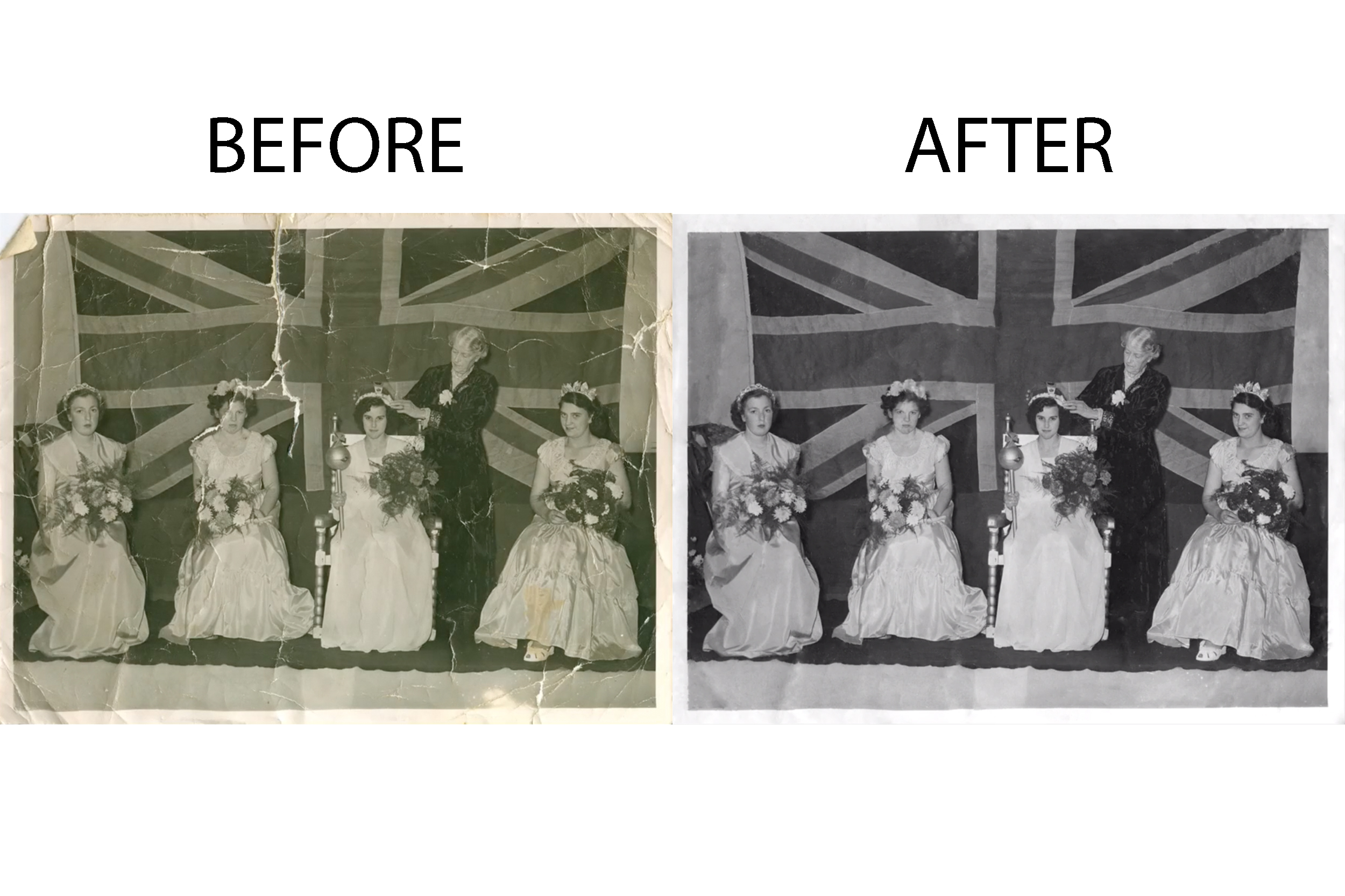 Photo Restoration & Editing - Turn your old photos to a new memory