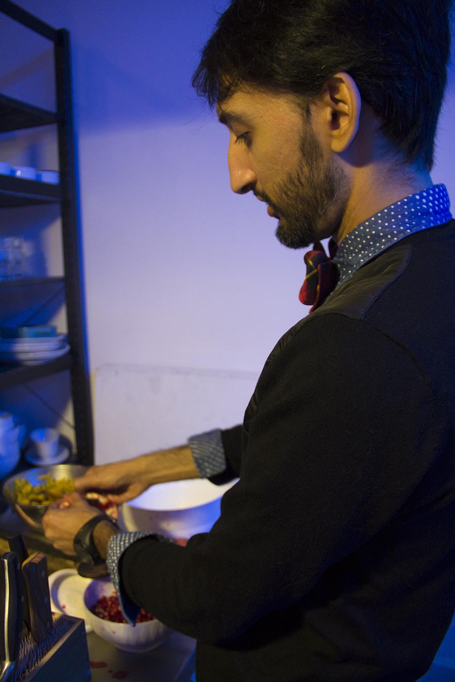 Handful | Banana Leaves & Diwali Lamps