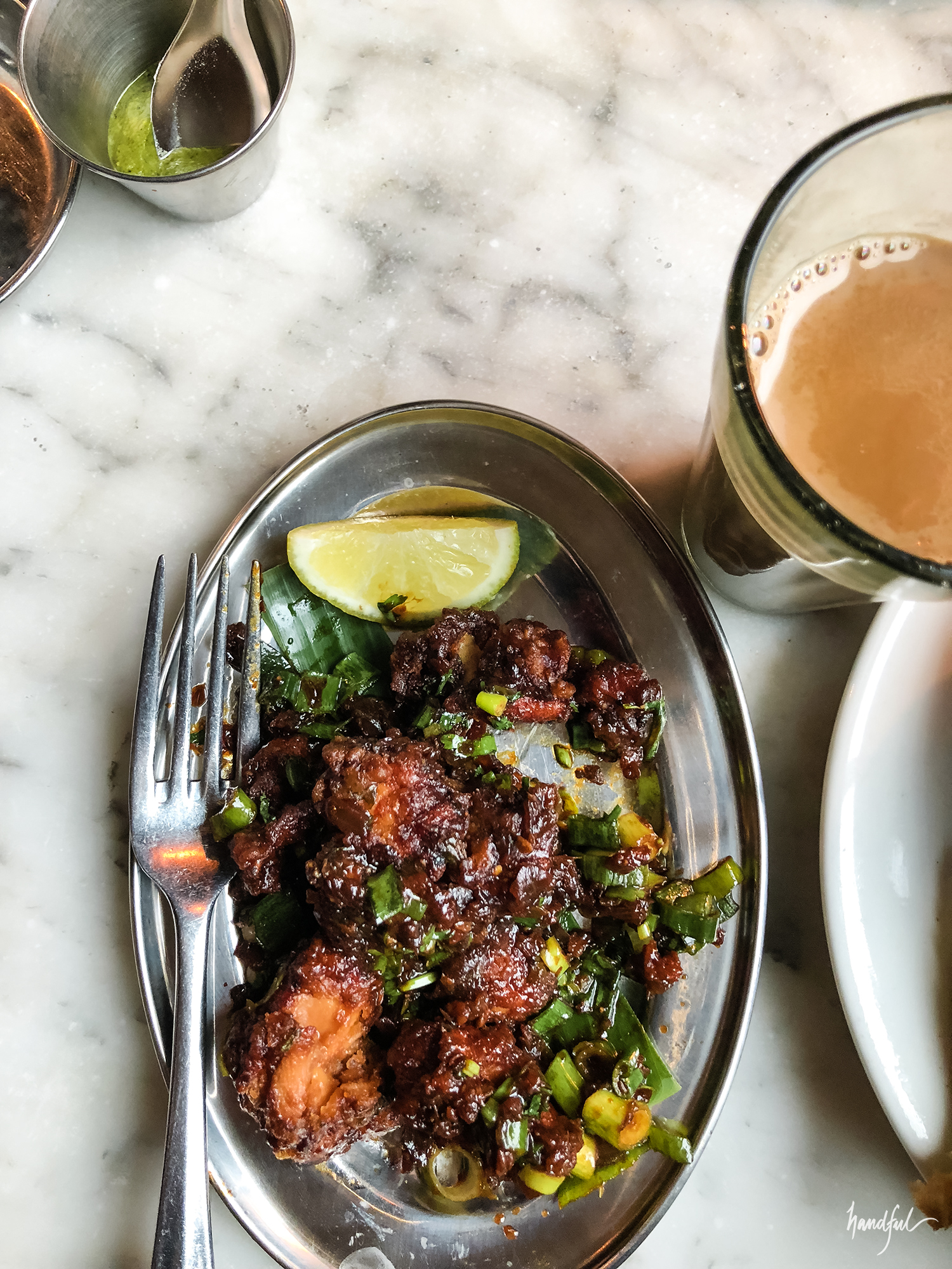 The chilli chicken kicking everything out of the park
