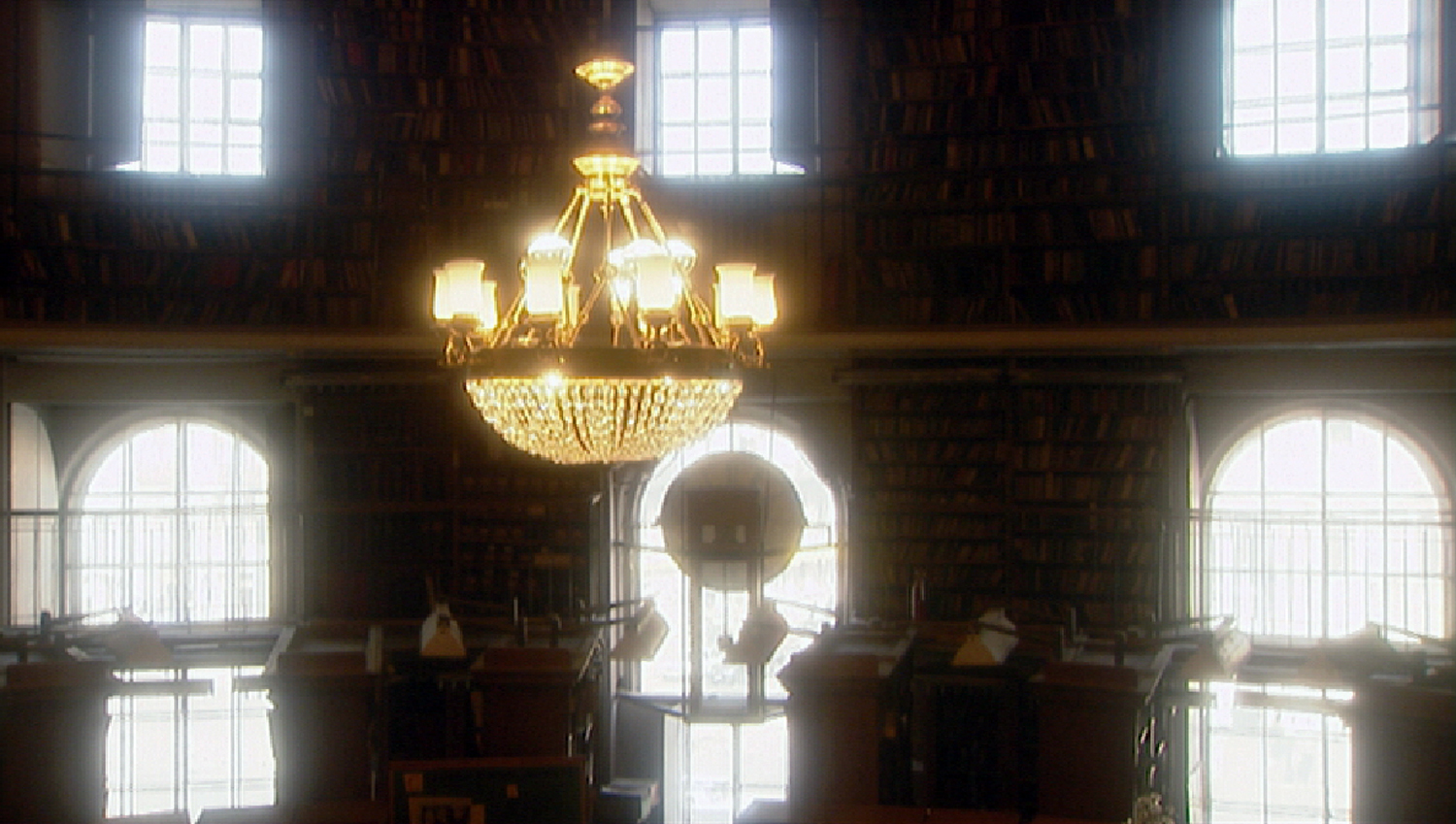 The Russian National Library Interior