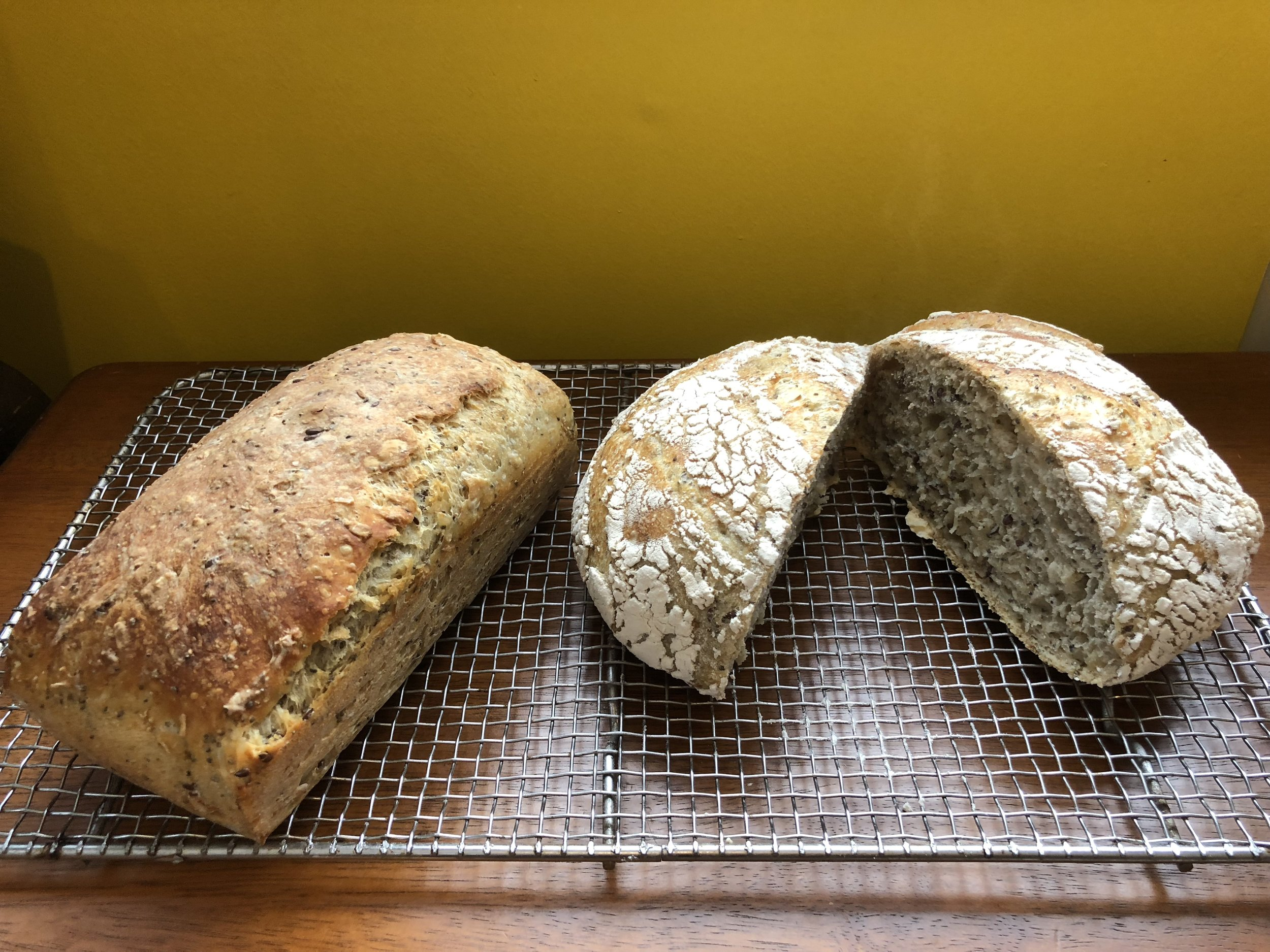 Rommy started making delicious multi-grain bread.