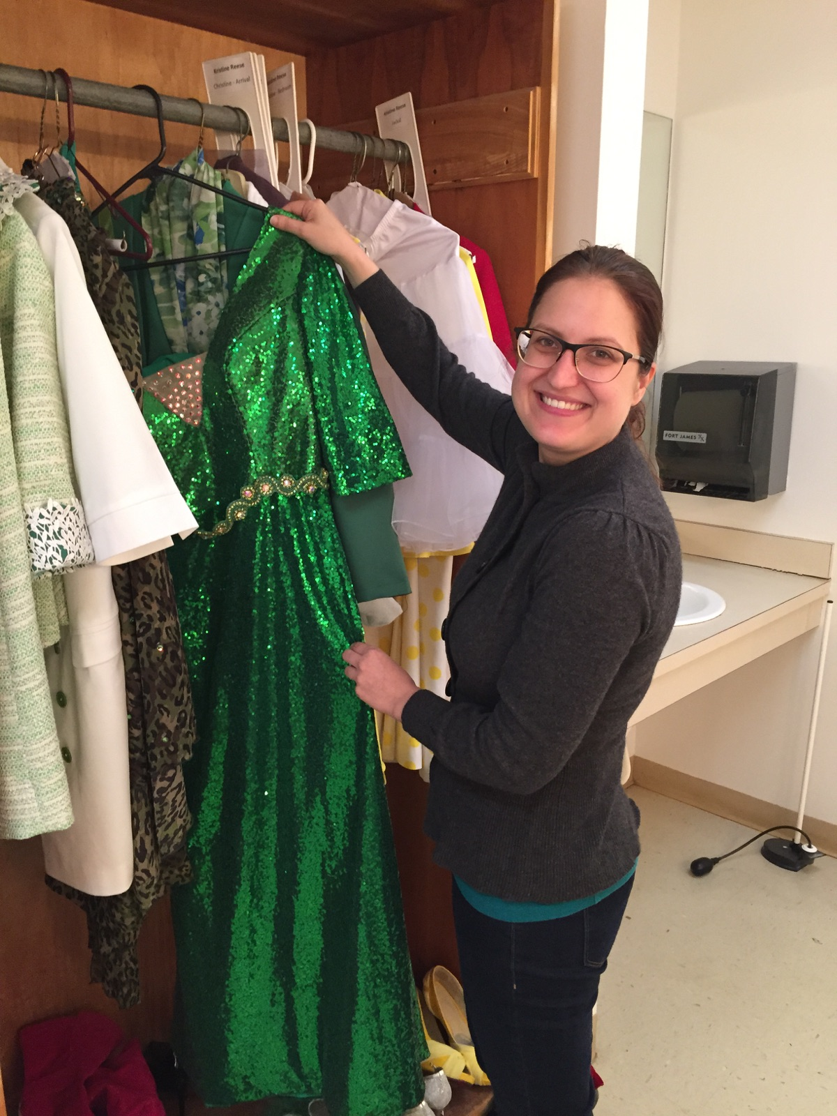 Arts Center's Costume Shop Designer Eloise Petro