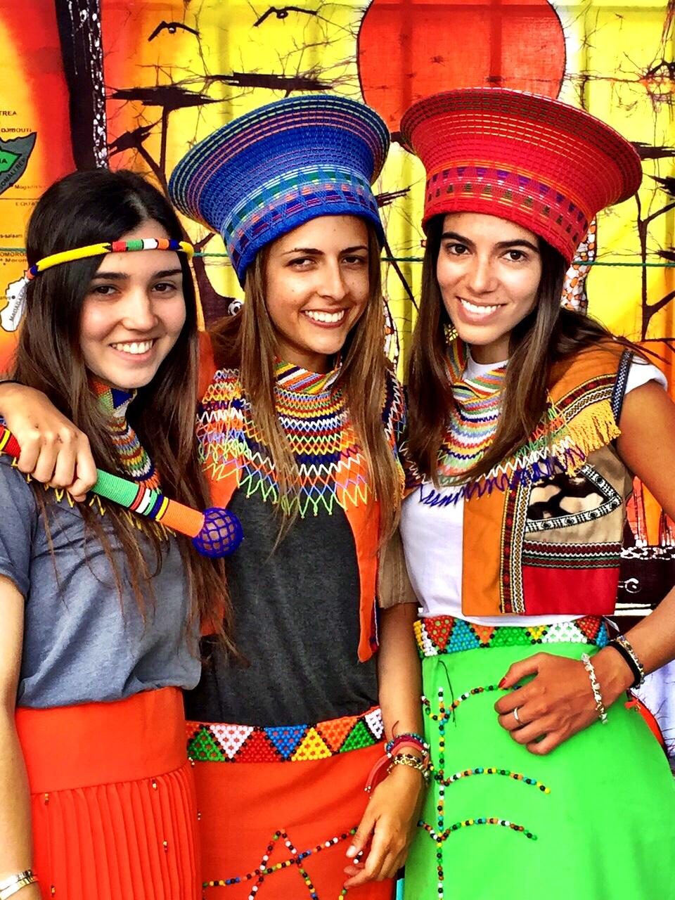 Zulu costumes