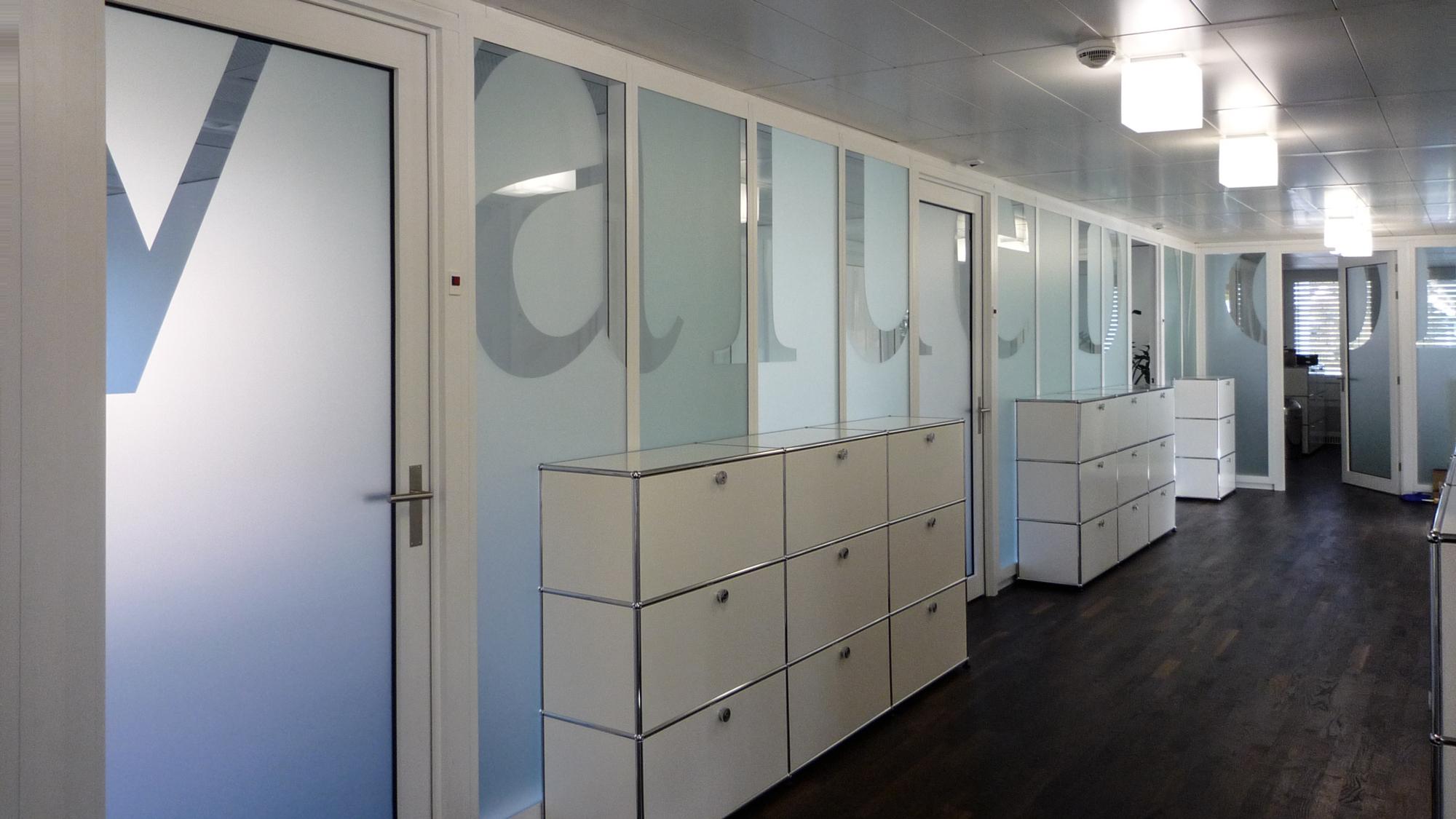 Sichtschutz für Büros und Sitzungszimmer