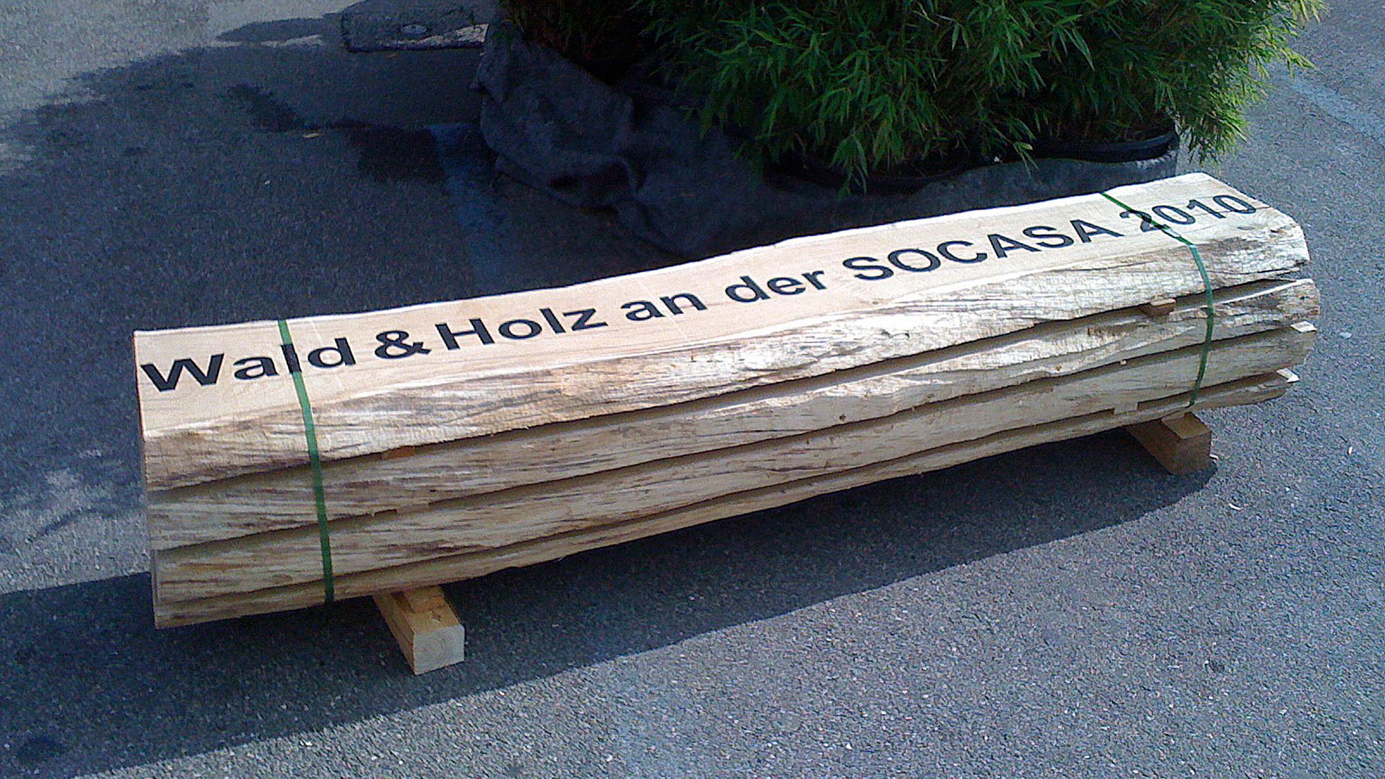 Holzbeschriftung
