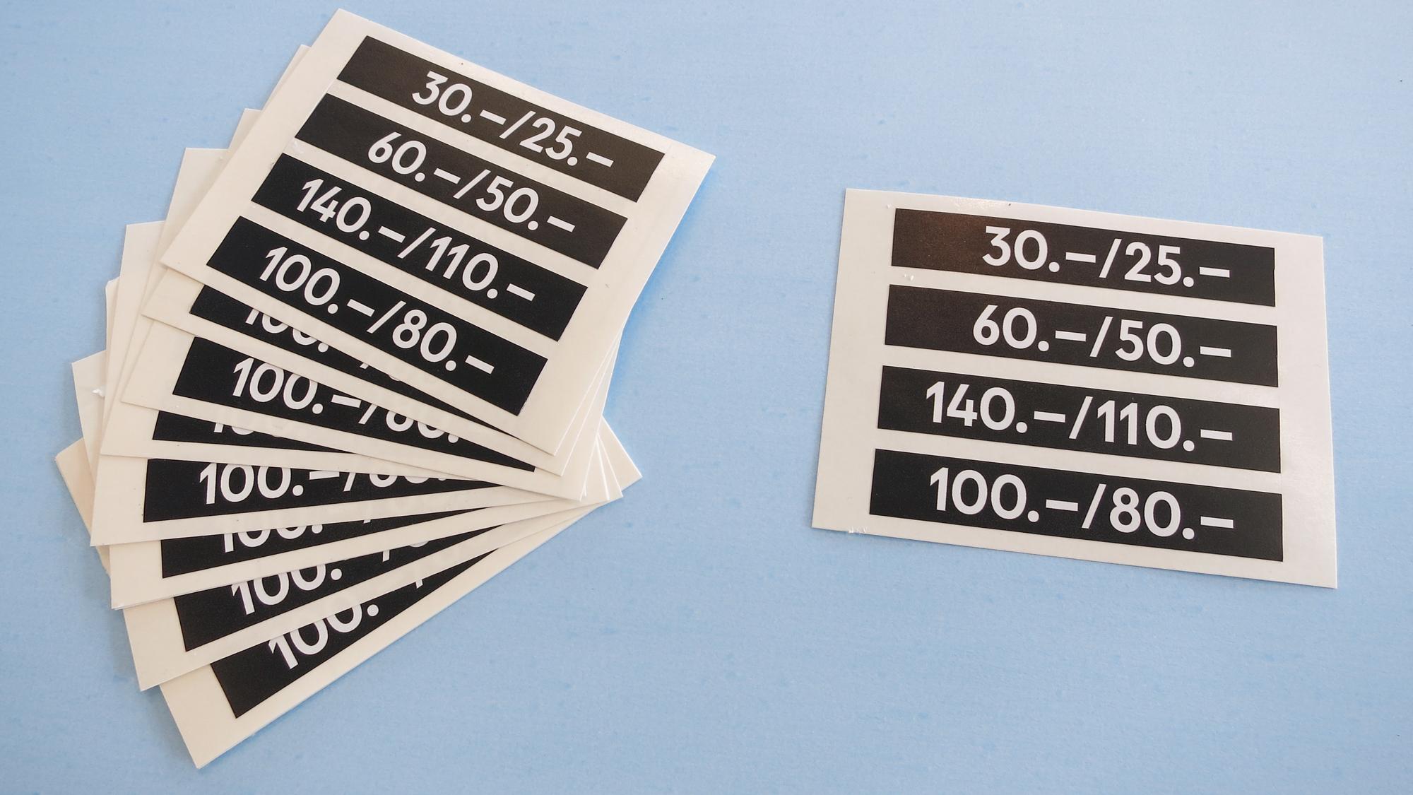 Copy of Preiskleber für temporären Einsatz