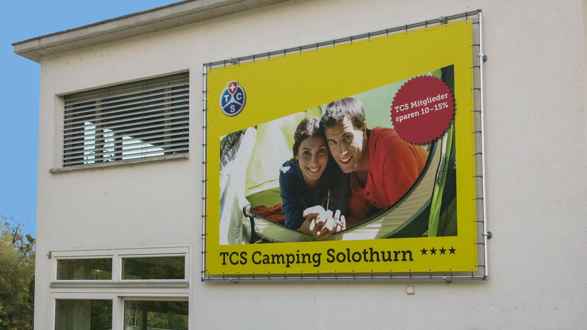 Werbeblachen - Banner, Gitternetze
