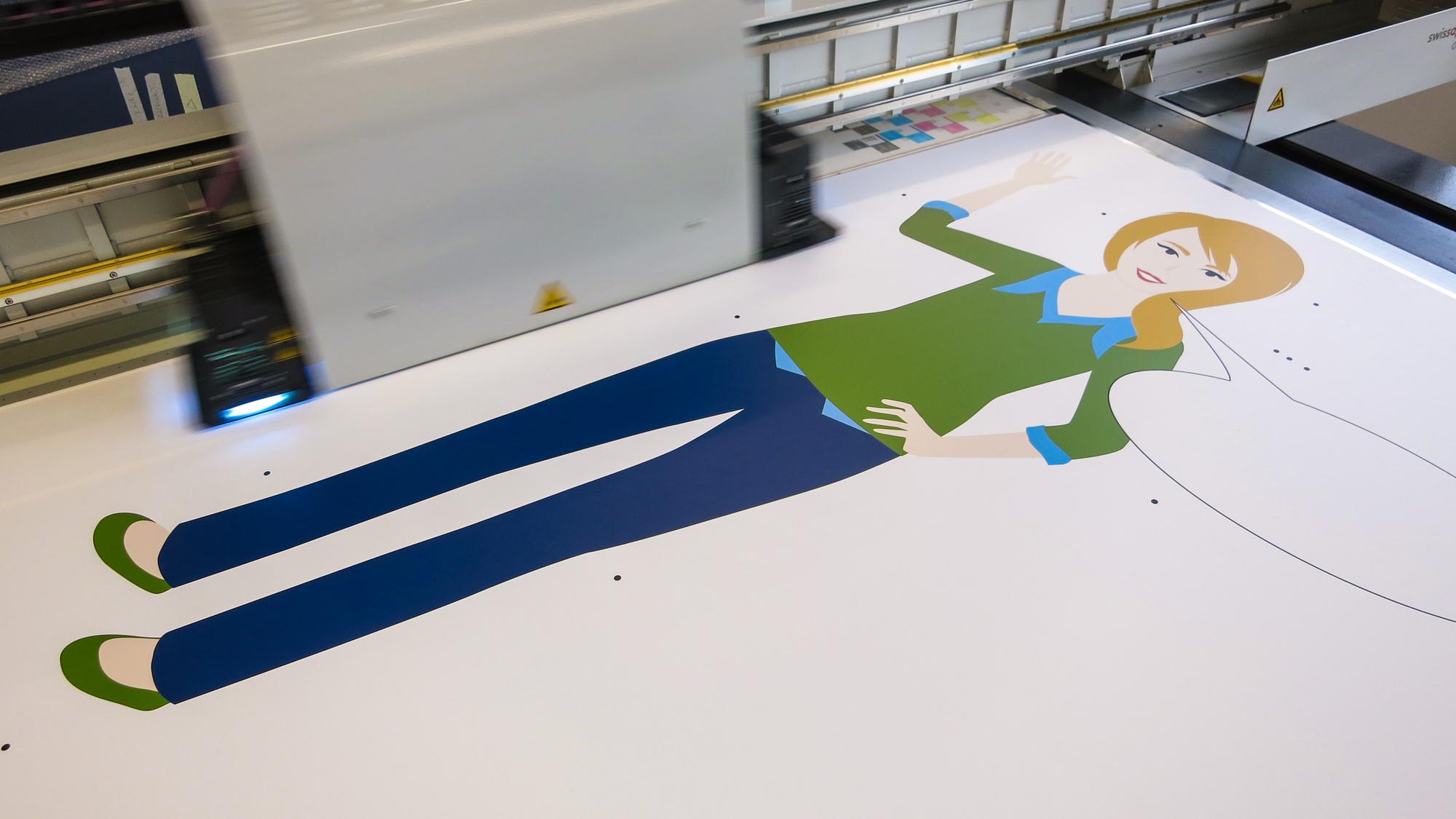 - DruckenDruck auf Recycling Karton weiss kaschiert. Dicke 5 mm und 10 mm.