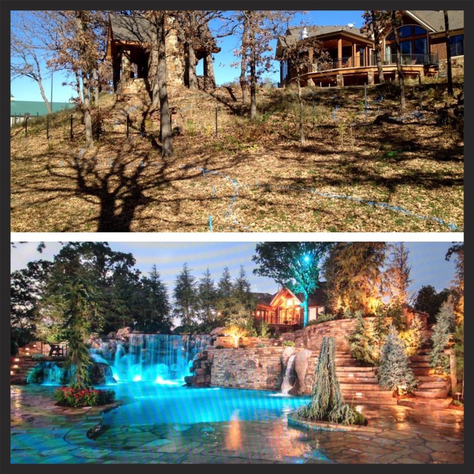 Before & After-Boulder Pool