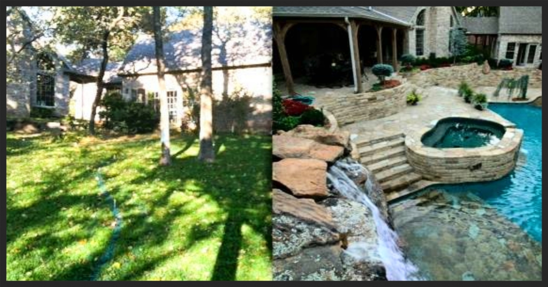 Before & After - Oakdale Farms Estate