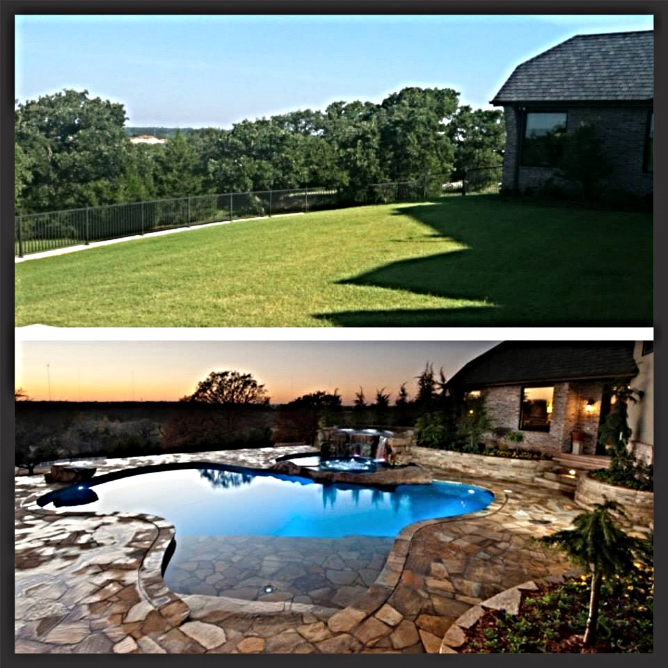 Before & After - White Fences Estate