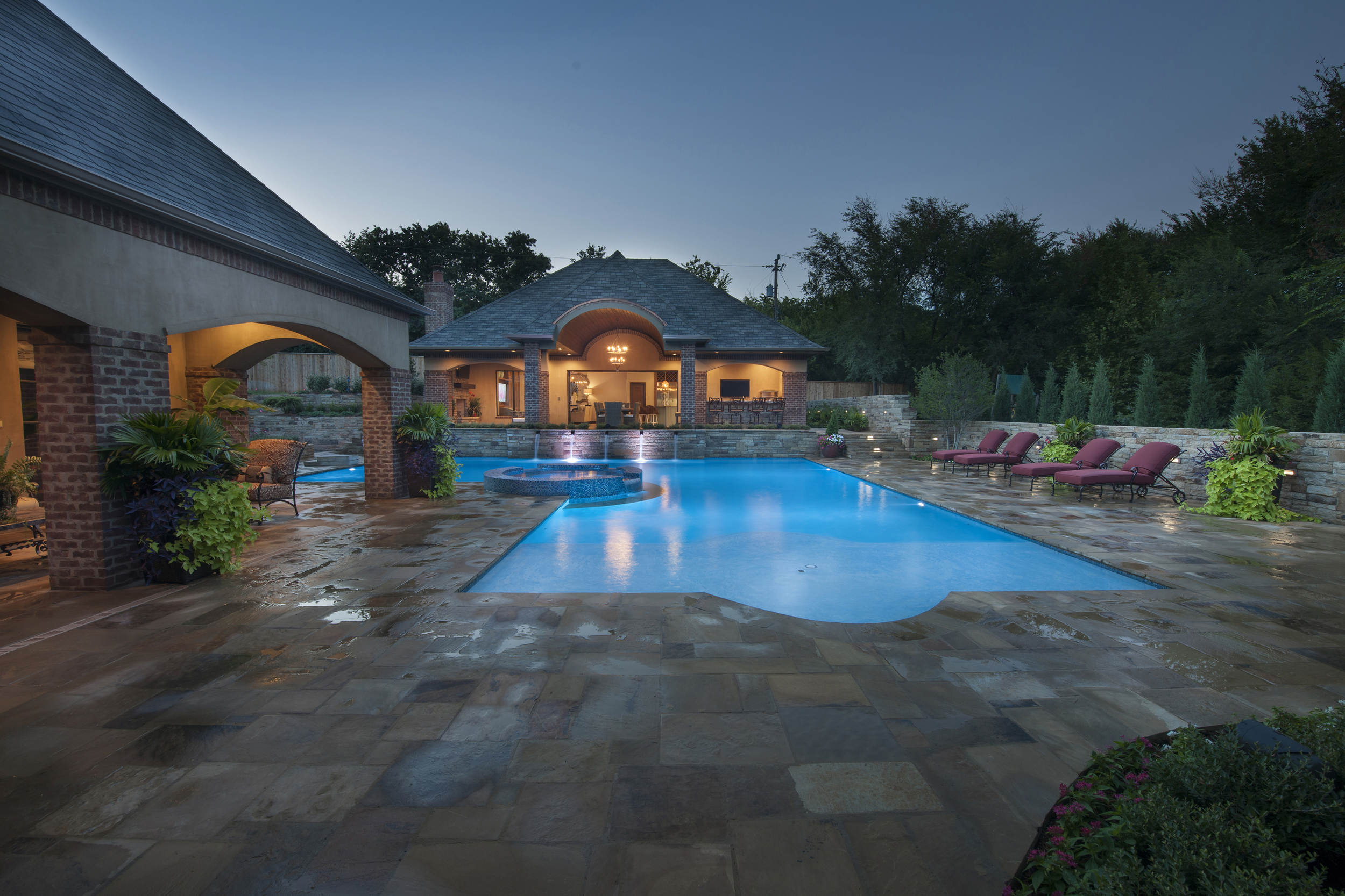 French-Inspired Classic Pool