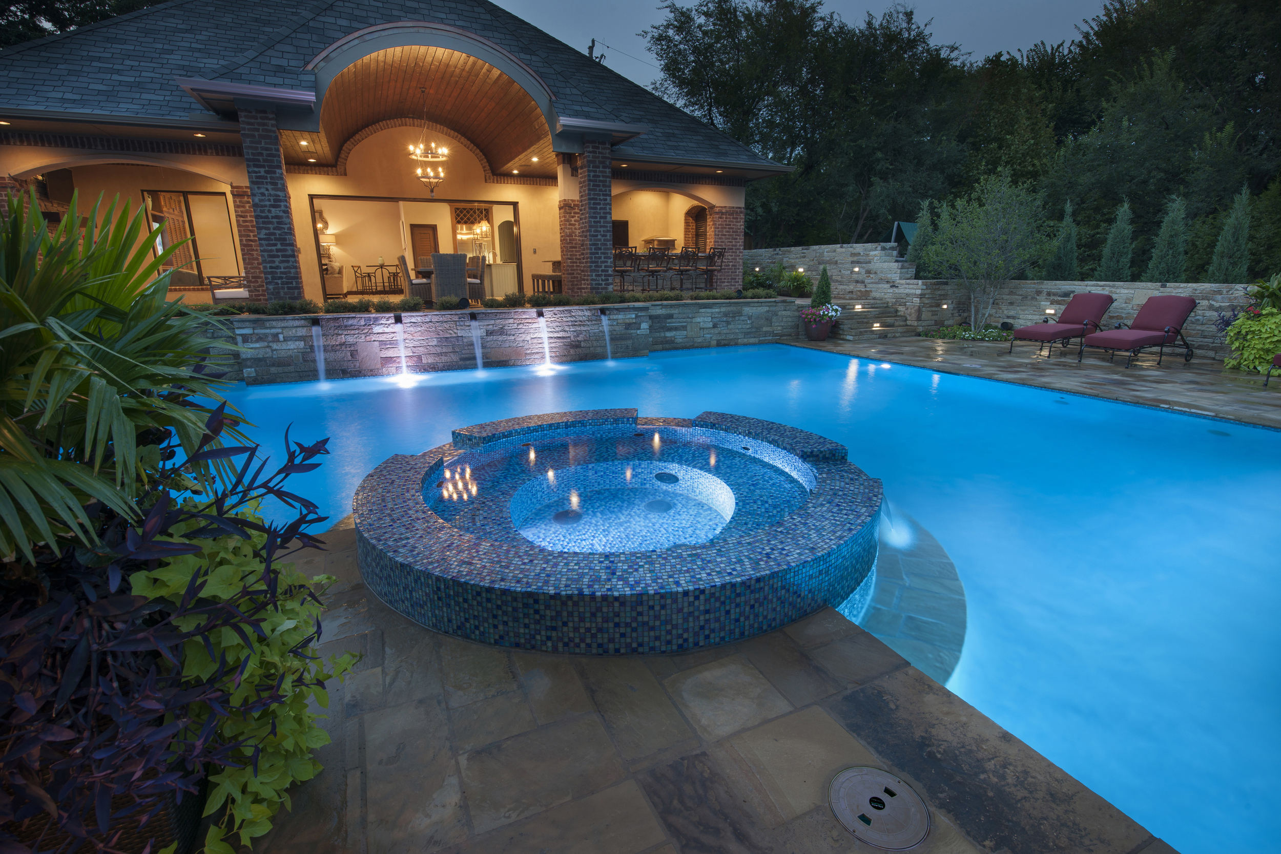 French Inspired Classic Pool