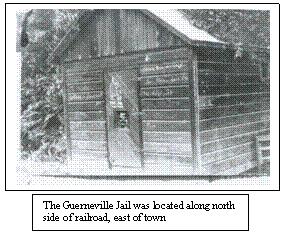 Guerneville Jail, Circa 1920.