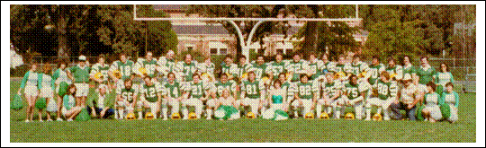 "The Sonoma County Sheriff's Office ""Raiders"" Football Team, Circa 1979"