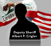 BLANK PROFILE OF DEPUTY SHERIFF Albert P. Crigler