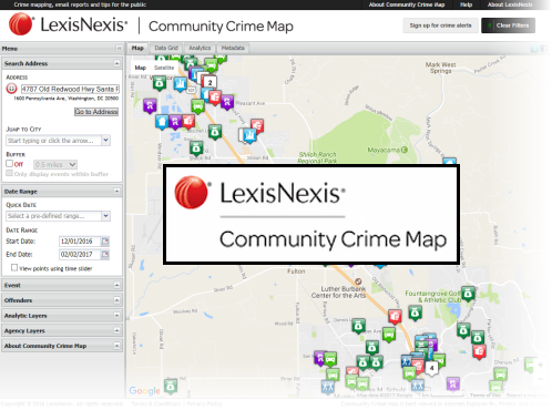 Community Crime Map