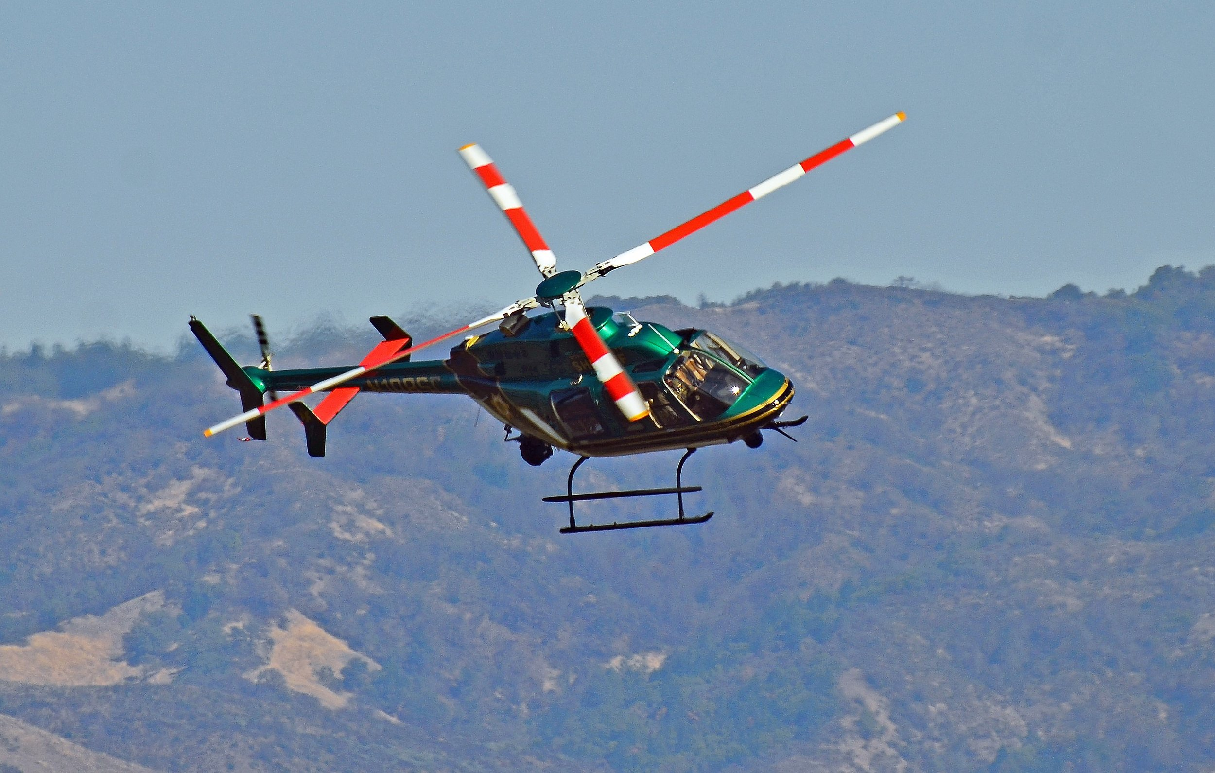 Helicopter Unit — Sonoma County Sheriff's Office