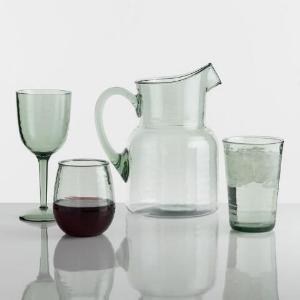 Textured Acrylic Wine Glasses
