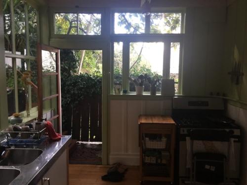 BEFORE: Kitchen, corner view