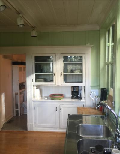 BEFORE: Kitchen, interior view