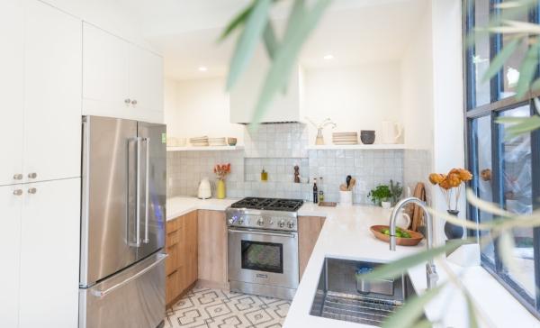 AFTER: Kitchen, interior view