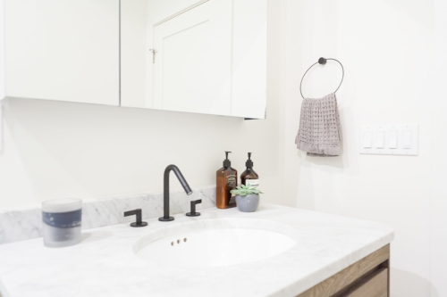AFTER: Bathroom Vanity