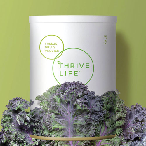 Thrive Life  Identity Development for Utah-based food company