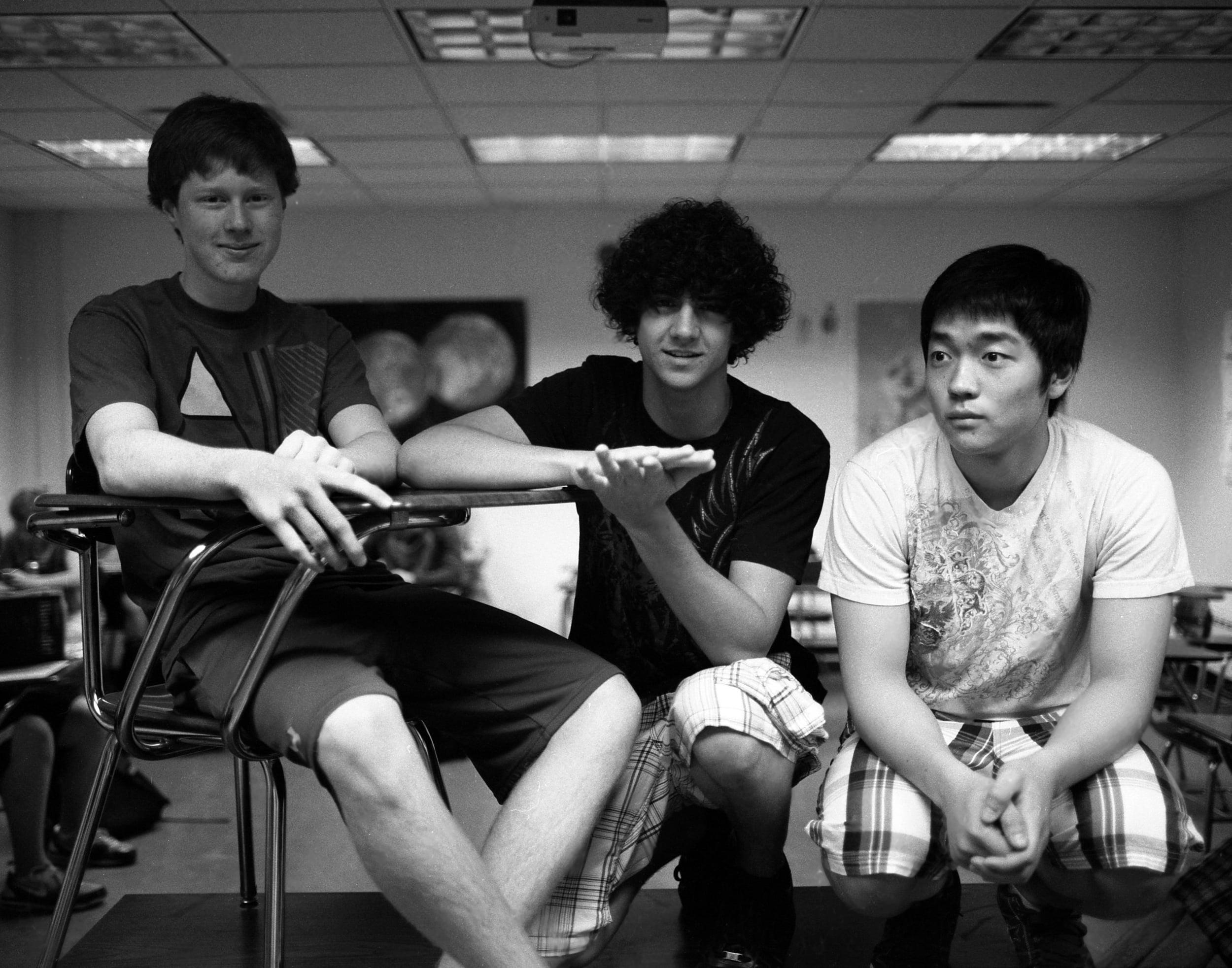 matt, rodrigo, yon, class of 2012