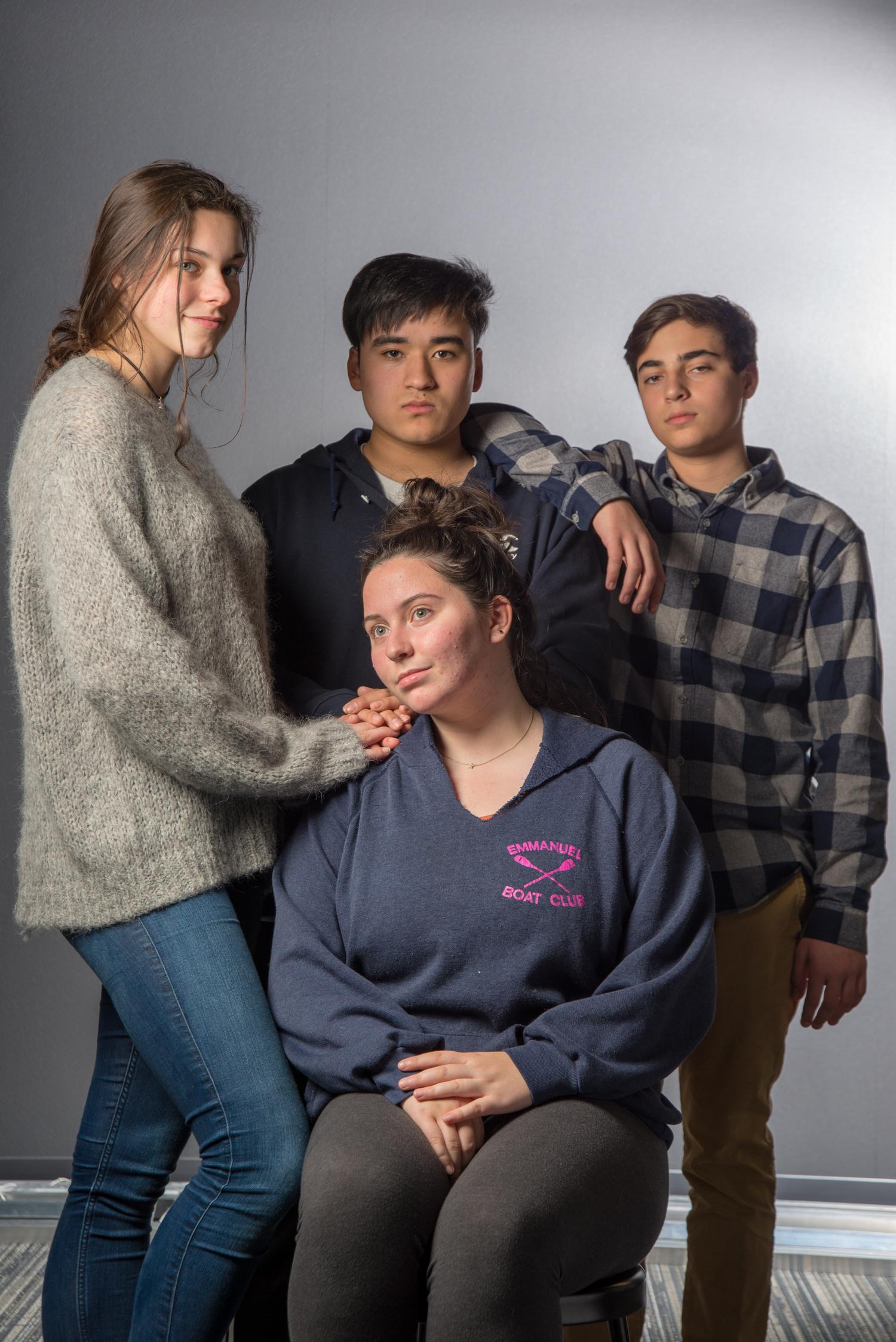 anna, julian, rachel, and nick, 2018