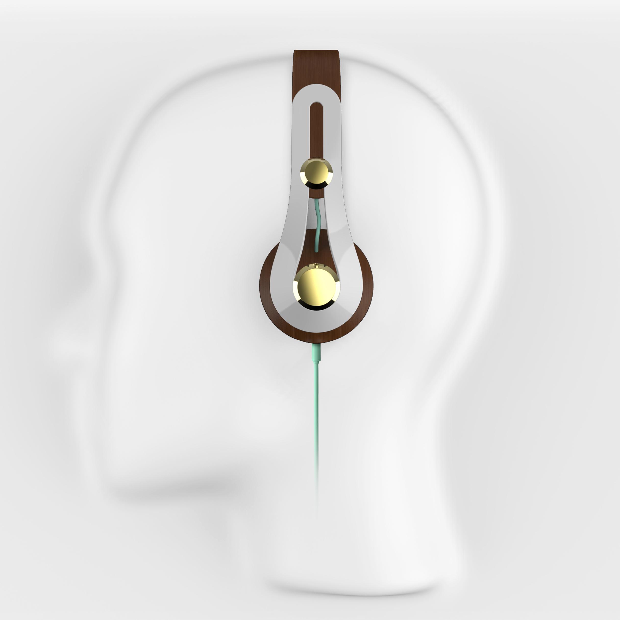 Bent Ply Headphones