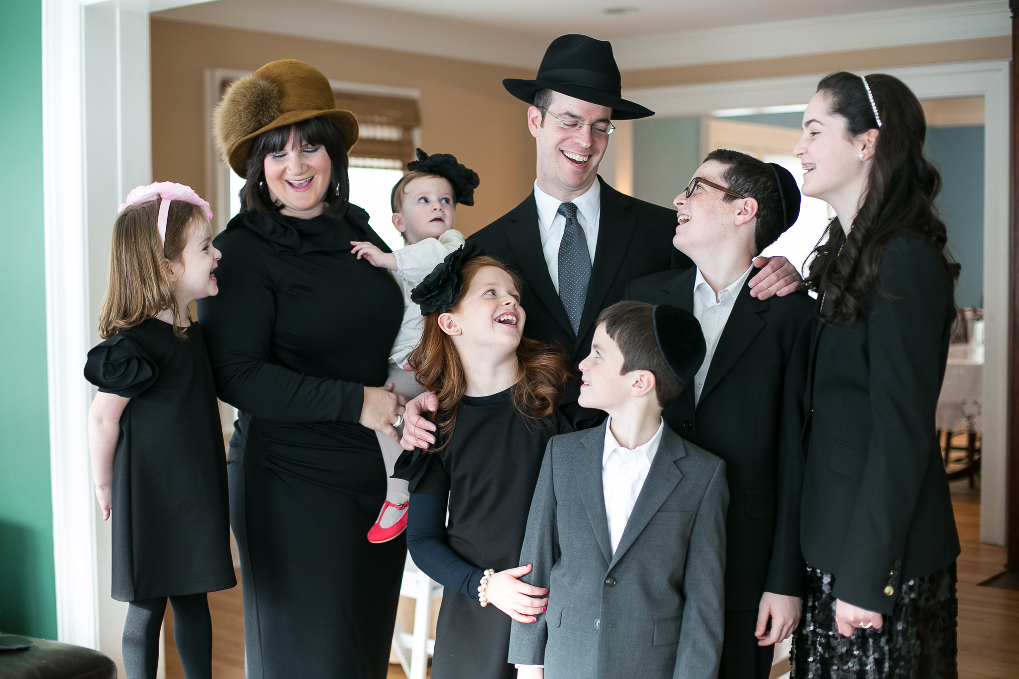 """We feel very lucky to have had Chana photograph our son Dovid's Bar Mitzvah. Somehow Chana managed to """"get us"""". We have his beautiful album displayed right at the entrance to our house. As an added bonus we now count Chana and her husband Yehuda as our friends! Warmest regards, Aron and Chani Foxbruner"""