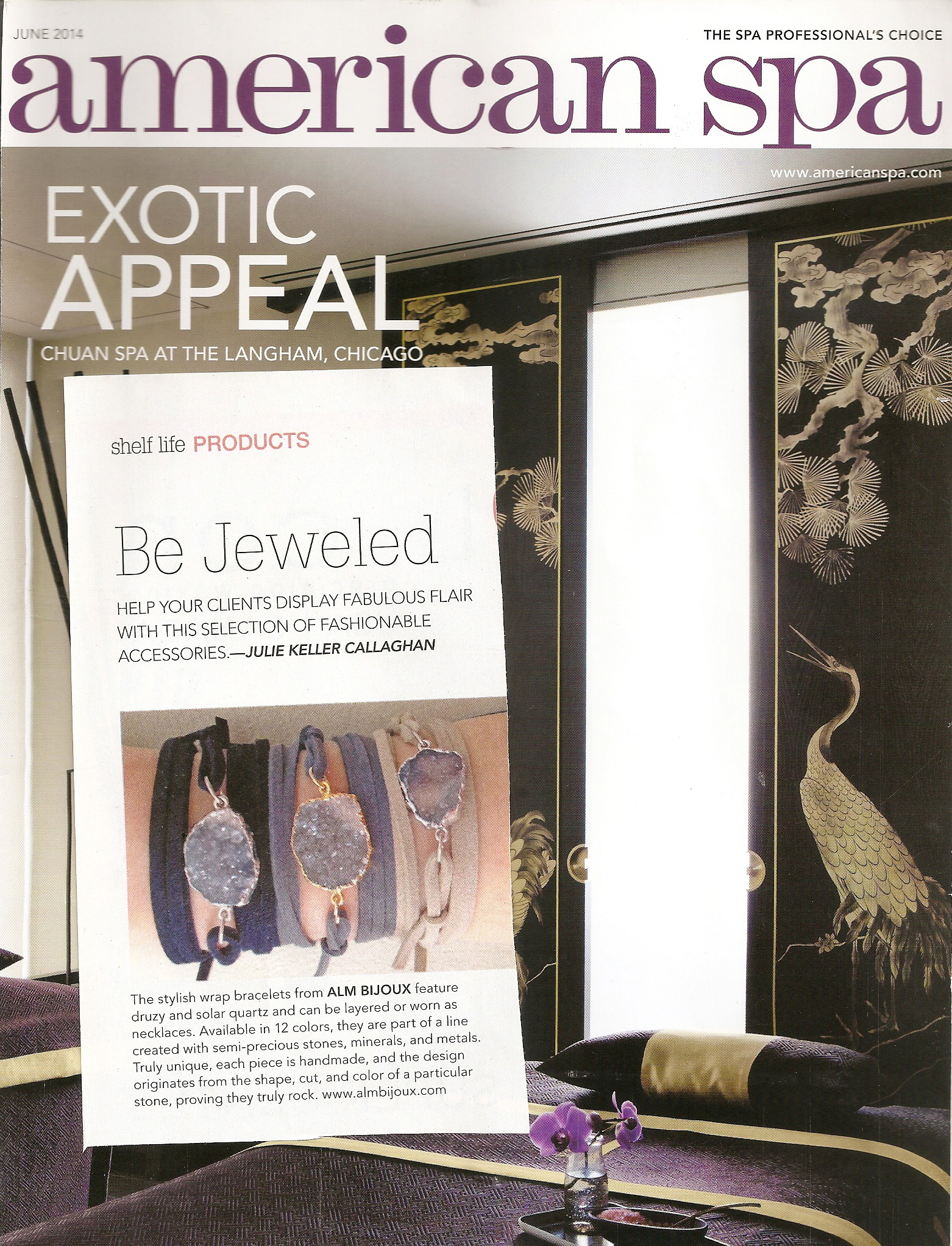 Feature in American Spa
