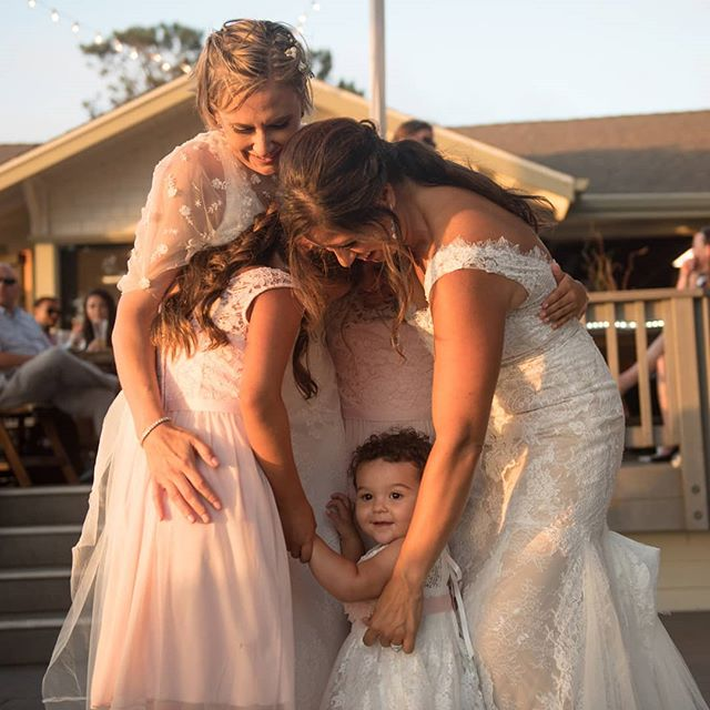 When two lives are melded into a single family, a magical thing happens when there are children involved.  Photographing two families coming together really hits home for me and is by far one of the most moving story to capture on film.  Victoria and Tina's was just as much as their commitment to each other, as it was a commitment to their beautiful daughters.  #lesbianwedding #engayged #lesbianstyle# #lesbiancouples #gaywedding #lovewins #loveislove