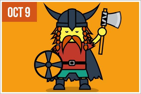Leif Erikson Day - Honors Norse explorer Leif Erikson, believed to be the first European to come to North America.
