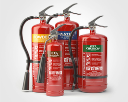 Fire extinguishers: - - Have at least 1 extinguisher in the kitchen and 1 in the garage.- Usually last 5-15 years.- Available at big box stores or your local hardware store for $20-$150+.