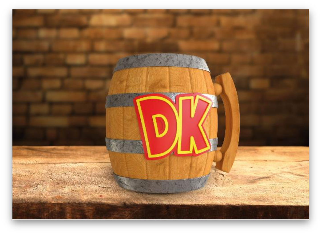 Paladone Donkey Kong Mug.png