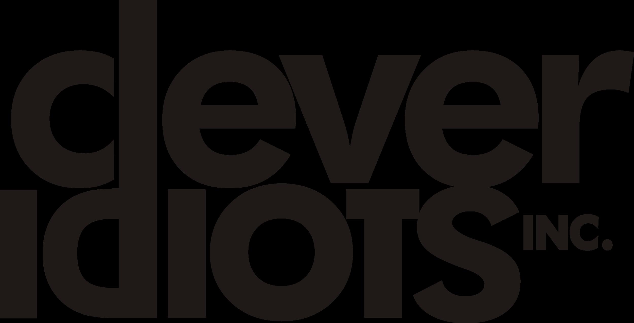 Clever Idiots Logo Black No Framed (PNG) (002).png